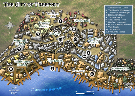 Kencyclopedia Kender Cartography Freeport Trilogy